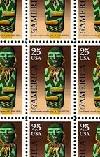 1989 - PRE-COLUMBIAN FIGURE - #2426 Mint -MNH- Sheet of 50 Postage Stamps