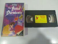 LA BELLA DURMIENTE - LOS CLASICOS DE WALT DISNEY - VHS Cinta Español