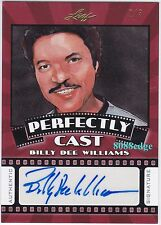 2015 POP CENTURY PERFECTLY CAST AUTO:BILLY DEE WILLIAMS #2/3 AUTOGRAPH STAR WARS