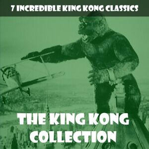 THE KING KONG COLLECTION 🎬 8 CLASSICS WITH KONG,  GODZILLA AND MECHANI-KONG!