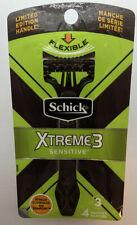 Schick Xtreme3 Sensitive Disposable Razors, 4 Razors