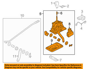 Infiniti NISSAN OEM 16-17 QX50 CENTER CONSOLE-Shifter Assembly 349011CA1E