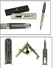 Fathers Day Masonic Gift Set (Pen & Knife Set)