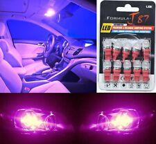 LED 5050 Light Pink 30000K 168 Ten Bulbs Front Side Marker Parking Lamp JDM