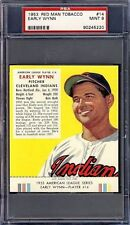 1953 Red Man #14A Early Wynn PSA 9