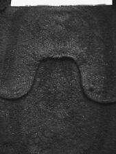 RESTMOR BLACK 100% COTTON SOFT LUXURY  PILE 2 PIECE BATH SETS MAT & PEDESTAL