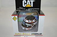1:6 Scale Diecast Metal Helmet John Bowe caterpiller racing