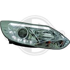 Fari Anteriori Dayline Daylight LTI CCFL Light Tube Ford Focus 4 IV 11-> Cromati