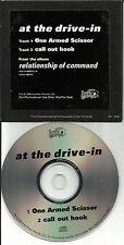 AT THE DRIVE IN One Armed Scissor PROMO DJ CD single DPRO15771 Mars Volta Sparta