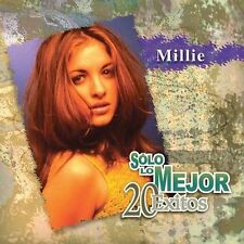 Solo Lo Mejor: 20 Exitos by Millie 2 CD Compilation (2002-EMI) Still Sealed