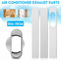 """Window Adaptor Adjustable Slide Kit Plate For Dia 5.9"""" Portable Air Conditioner"""