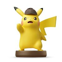 Nintendo amiibo Pokemon DETECTIVE PIKACHU 3DS Wii U Switch Accessories NEW
