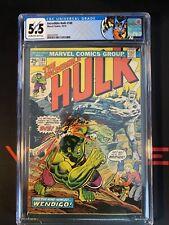 Incredible Hulk 180 CGC 5.5 - 1st Wolverine Cameo - Custom Label - MAJOR KEY