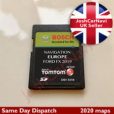 NEWEST FORD FX NAVIGATION SD CARD SAT NAV MAP UK and EUROPE 2019 - 2020