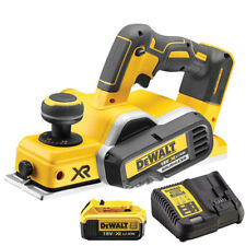 Dewalt DCP580N 18V XR Brushless Planer With 1 x 5.0Ah DCB184 Battery & Charger
