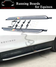 Fits For Chevrolet Equinox 2018 2019 Running Board Nerf Bar Side Steps Protector