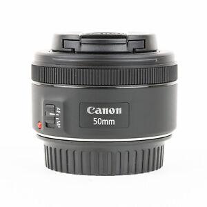 Canon EF 50mm F1.8 STM Lens + Caps - Excellent