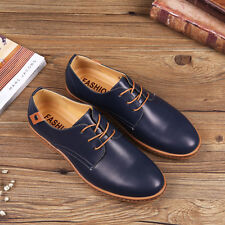Men's oxfords Leather Shoes Business Casual British style Dress Formal Lace Up H