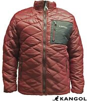 MENS CASUAL COAT FUNNEL NECK WARM CHEST POCKET FULL ZIP LIGHTWEIGHT QUILTED