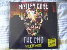 MOTLEY CRUE THE END LIVE IN LOS ANGELES 2LP+DVD SET NEW&SEALED