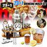 23+1 Cocktail Shaker Bar  Mixer Making Kit Gift Bartender Stainless Steel