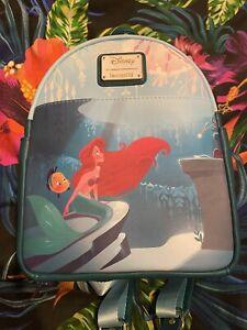 Disney Loungefly Little Mermaid Grotto Backpack BNWT