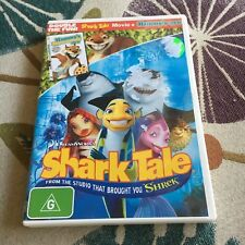 DREAMWORKS. SHARK TALE DVD. HAMMY DISC NOT THERE
