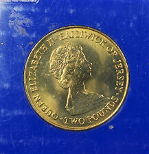 1981 Jersey Royal Wedding Commemorative Brilliant Uncirculated Coin Lady Diana