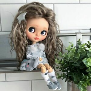"""Custom OOAK Blythe doll 12"""" One Of a Kind Clothes Shoes"""