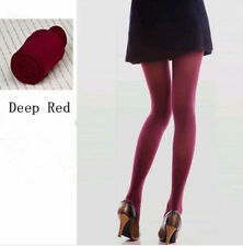 Women Colorful Thick Pantyhose Socks Opaque Tights Hosiery Stockings Breathable