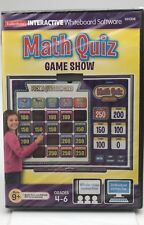 Math Quiz Game Show - Gr. 4-6 -(CD-ROM) Sealed! Brand New