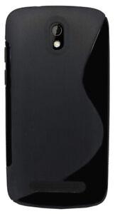 For HTC Desire C Case Slim S-Line Silicone TPU Gel Skin Cover - Anti-Slip Grip