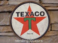 1936 Texaco Gas Station Mechanic Auto Garage Vintage Tin Poster Picture Sign New