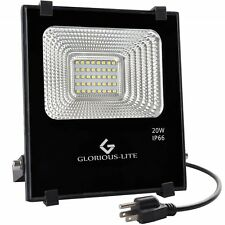 LED Flood Light Outdoor Waterproof Work Daylight Lights Garden 110V Floodlight
