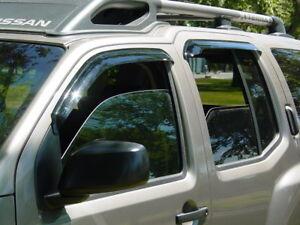 Tape-On Vent Visors for 2005 - 2015 Nissan Xterra