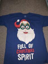 Mens Christmas T-shirt XXL