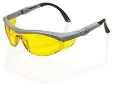 B Brand UTAH Safety Protezione Occhi Occhiali occhiali lenti gialle