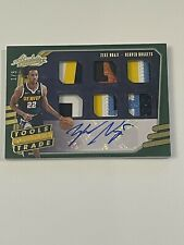 2020-21 Absolute Tools of The Trade Zeke Nnaji 6 piece Patch/Ball, Auto /5