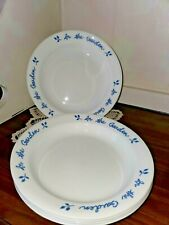 "Set Of 5 Corelle Corning In The Garden 8½"" Rim 15 Oz Soup/Pasta Bowl Excellent!"