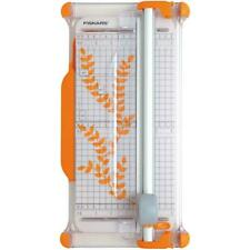 Fiskars A4 Guillotine Rotary Cutter & Ruler Paper/Card Trimmer Acute/Precision