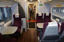 PHOTO  FIRST CLASS INTERIOR OF DMCL NO79518 OF BOMBARDIER (DERBY) CLASS 170/5 TU