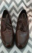 Vintage Executive Imperial Velvet Eez Brown Leather Oxford Dress Shoes Size 8D