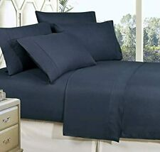 Wrinkle Resistant Luxury 6-Piece Bed Sheet Set - 1500 Thread Count Egyptian Qual