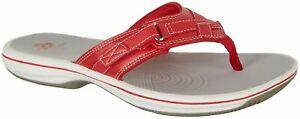 Clarks Womens Breeze Sea Flip Flops Comfort Summer Sandals