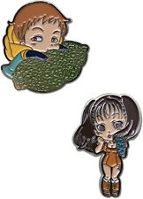 THE SEVEN DEADLY SINS - KING & DIANE PINS *RARE* AUTHENTIC & BRAND NEW