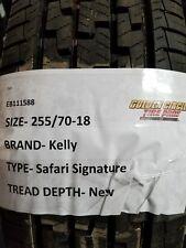 New Kelly Safari Signature 255/70-18 255/70-R18 255 70 18 2557018  FREE SHIPPING