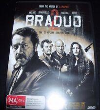 Braquo The Complete Season 2 (Australia PAL Region 4) DVD – New (Not Sealed)