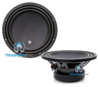 "(2) MEMPHIS MCR12S4 12"" SUBS SVC 4-OHM 600W SUBWOOFERS CLEAN BASS SPEAKERS NEW"
