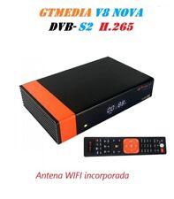 Receptor Satelital GTMedia  V8 NOVA DVB S2 TV IPTV  antena WIFI integrada