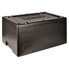 Paderno Contenitore isotermico GN CRYSTAL Coperchio nero - 60 x 40 x 30 cm